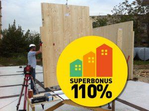 SuperBonus 110% per case in legno