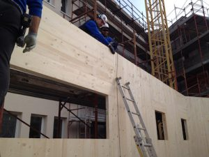 Genova costruzione in Xlam Biolam Italia