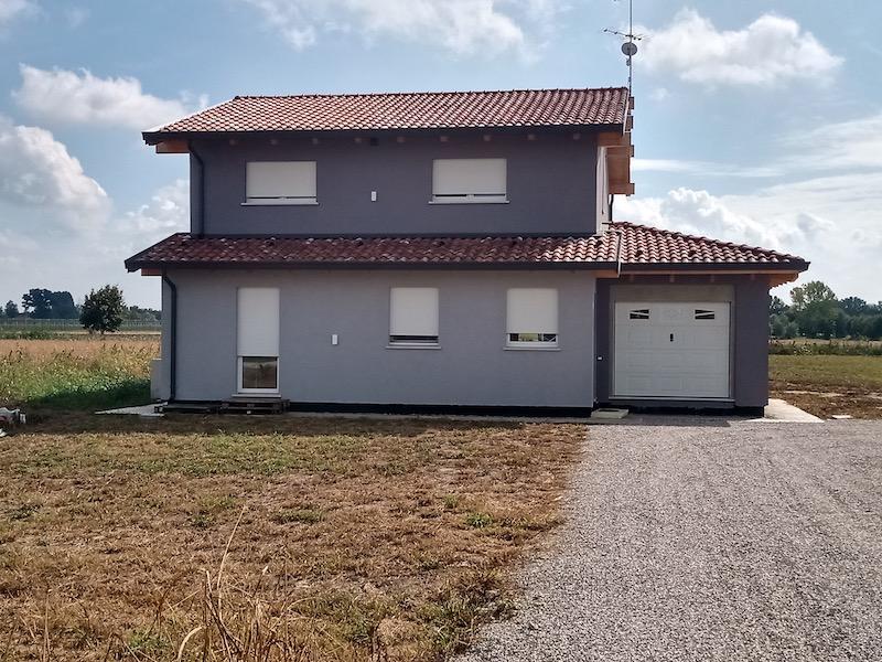 Costruzione in legno Biolam Italia - Casa finita 2