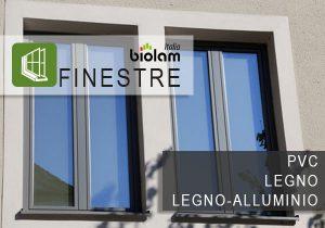 Finestre Biolam in PVC - LEGNO - LEGNO E ALLUMINIO