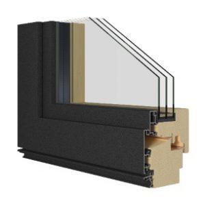 Finestra Legno Alluminio Bio Termo Alu S