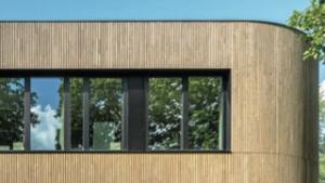 Facciate in legno Biolam Italia