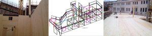 Progettazione taglio e montaggio legno