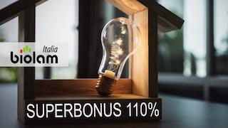 Superbonus 110% per case in legno Biolam Italia