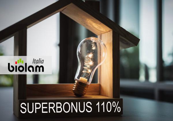Superbonus 110% Biolam Italia per case in legno